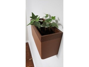 pared plantador envase decoración flor caja flor maceta interior jardín interior jardinería planta maceta maceta almacenamiento envase pared pared plantador