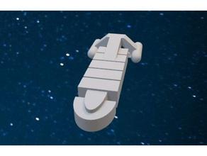Star Wanderung Benutzerdefiniert Frachter Schiff catan Straße catan catan Stücke Raumschiff Raumschiff Star Trek Star Wanderung
