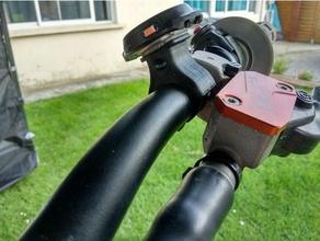 Unterstützung Lenker chrono Stoppuhr Lenker Halterung Chronometer Schmutz Fahrrad Lenker moto Kreuz Stoppuhr