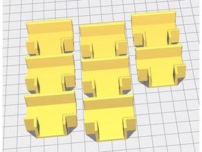 estante entrelazado soporte soporte 18mm madera contrachapada platos estante estante soporte estante montar estante apoyo