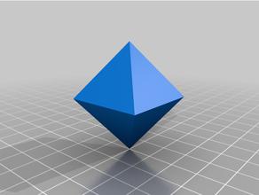 isométrique octaèdre cristal cristallographie cristal structure isométrique octaèdre