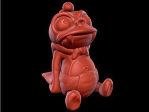 Kral nibbler kolay Yazdır destek 20th yüzyıl hayvan Şirin şekil futurama Kral nibbler mat Groening model heykel desteksiz