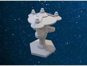 star trek romulan base catan catan catan pieces romulan starbase startrek star trek