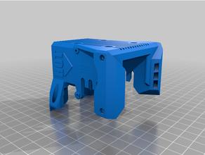 blv 3d printer modifié bloquer bouclier bmg extrudeuse blv mgm cube blv mgn blv mod