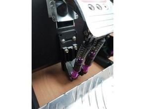 thrustmaster t3pa pró freio mod Duplo amortecedor