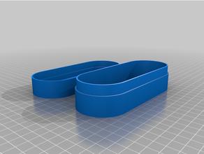 personalizado lentes caso funda redondeado caja tapa personalizado