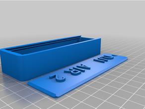 personalizado caja tapa personalizado