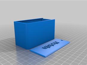caja tapa agujas personalizado