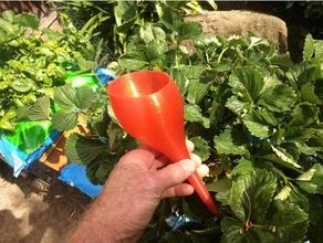 planta maceta regando cosita bulbo embudo jardín planta maceta agua