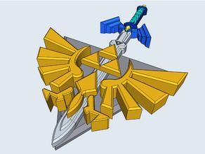 legend zelda triforce master sword legend zelda master sword thelegendofzelda legend zelda triforce zelda
