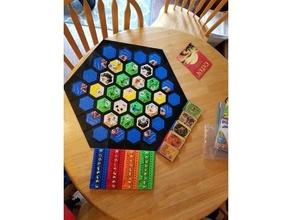 catan Base magnetlos Verriegelung Rahmen Kante Brettspiel Brettspiele Tafel Spiel catan Spiel Hexagon Siedler Catan Siedler catan