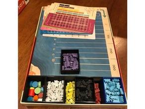 Reiten Schienen einfügen Brettspiel Brettspiel Einsätze Brettspiel Veranstalter Tafel Spiel Tafel Spiel einfügen