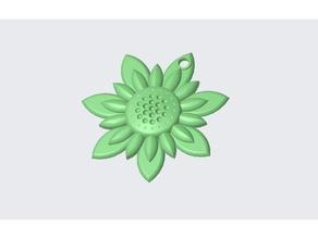 llavero flor flor llavero