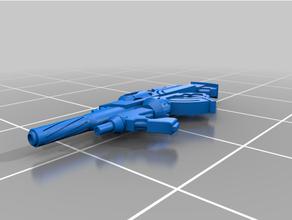 multi rifle + light grenade launcher pan-o infinity game corvus belli infinity infinity game