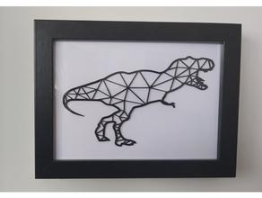 t rex parete arte 2d dinosauro parete arte 2dart 2d arte 2d parete arte arte arte arredamento decorazione dino dinosauro dinosauro 2d parete arte dinosaurio arte dinosaurio