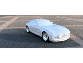 sls amg mercenario open v5 deriva 98mm