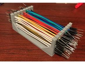Maglione filo organizzatore 80 mm jumperwire Maglione filo titolare supporto filo cremagliera filo titolare supporto