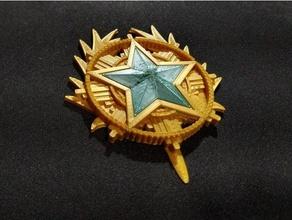 cs 2020 Servicio medallas contraataque moneda contraataque mostrador Huelga csgo csgo modelo cs joyería joya medallas
