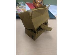 cartulina caja imitar caja dandd mazmorras dragones imitar
