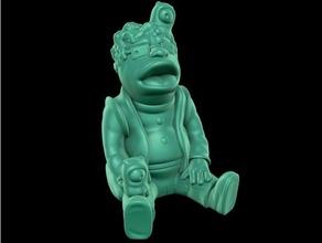 Hermes kolay Yazdır destek 20th yüzyıl şekil futurama Hermes altıgen mat Groening model heykel desteksiz
