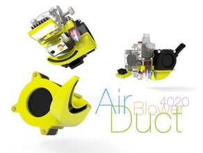 air duct blower 4020