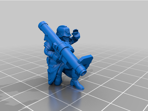 heavy weapons team missile launcher