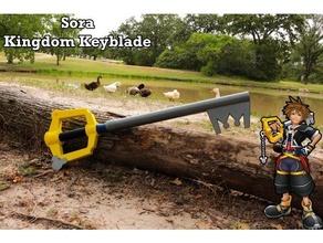 kingdom keyblade sora's keyblade - kingdom hearts - cosplay prop keyblade kingdom hearts kingdom hearts 15 kingdom hearts 2 kingdom hearts 3 kingdom keyblade sora