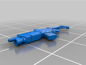 rifle + light grenade launcher ariadan infinity game corvus belli infinity infinity game