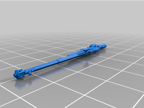land kitbashing 40k destiny destiny 2 kitbash rifle sniper warhammer wh40k