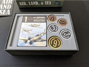 air land & sea board game insert boardgame boardgame inserts boardgame organizer board game insert