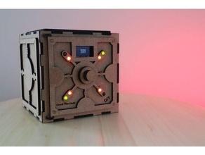 crack code safe puzzle box arduino box code display game laser laser cut laser cutting led oled puzzle puzzle box safe safe box toy