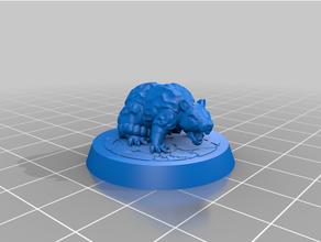 gloomhaven - mindthief pet - monster rat gloomhaven tabletop tabletop gaming tabletop rpg