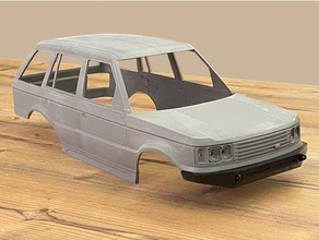 land rover renge rover p38 313mm axial scx10 313mm discovery land rover p38 rc body rc shell renge rover vogue