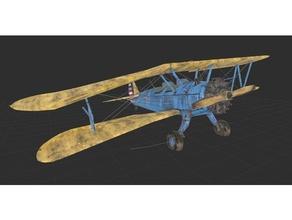 ricaduta rotto biplano aereo biplano rotto crash incidentato ricaduta aereo