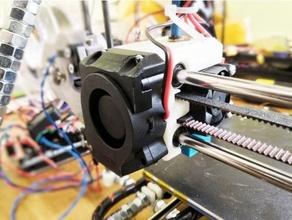 reprappro huxley 40x40 blower fan holder