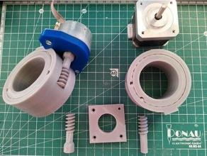 antenna rotator worm gear integrated bb ball bearings antenna rotator bearing gearbox nema17 rotator worm drive worm gear