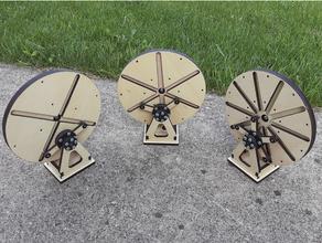 multiple ingranaggio modello 507 movimenti scrivania giocattolo Ingranaggio Taglio laser meccanismo