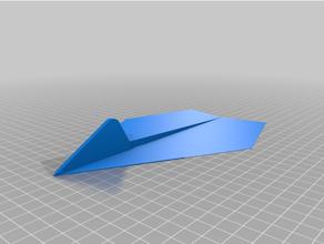 3d stampato carta aereo 3d stampa aereo avion carta papier aereo giocattolo
