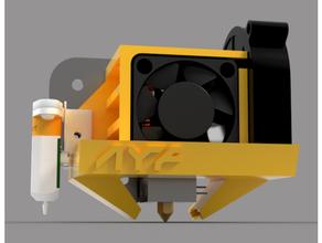 ayf creality cr-10 5015 fan duct 2nd edition 4010 4010 blower 4010 fan 4010 radial blower 5015 5015 blower 5015 fan duct creality duct ender ender 3 fan fanduct fan duct