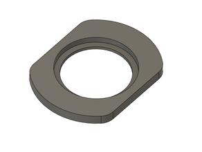 vw escarabajo metal guión conversión pestillo escudo guante caja puerta