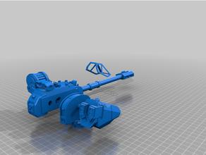 Stormraven torretta upgrade contatore discussione 3dkitbash 40k Stormraven warhammer40k warhammer 40k