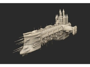 Schiff 01 Kriegshammer 40k 40k Todesschwinge Hulk Schiff Platz Kriegshammer