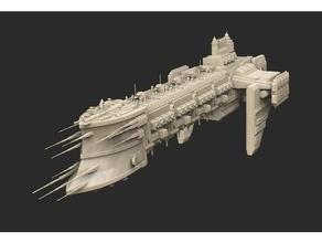Schiff 04 Kriegshammer 40k 40k Todesschwinge Hulk Schiff Platz Kriegshammer