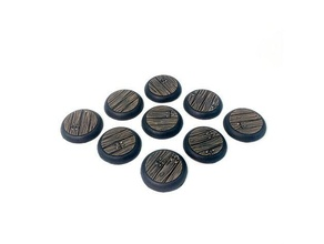 25mm wood plank recessed miniature bases 1inch 1inch base 25mm 25mm base 25mm bases 28mm dnd miniature dungeons dragons miniature miniatures miniature 28mm plank recessed wood