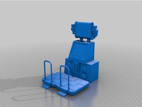 ddr makine ölçekli oyun makinesi ddr diyorama makine destek retro oyun makinesi oyuncak