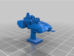 galactic crusaders - anti gravity speeder - 6-8mm epic epic30k epic40k epic 40k epic armageddon epic scale proxy spacemarine spacemarines space marine
