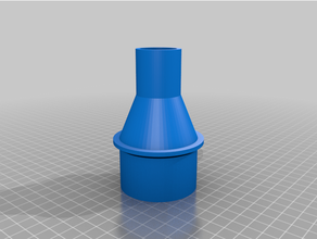 vuoto tubo flessibile adattatore 58mm 32mm