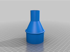 vuoto tubo flessibile adattatore 58 32mm personalizzato