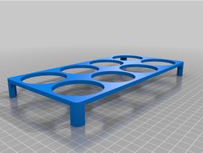 personalizado paramétrico bandeja pequeña pintar ollas 4x2 personalizado