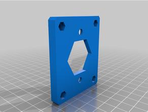 suporte para mosfet - frame 30x30 aluminio 30x30 3d printer agraber agraber 30i graber holder mosfet mosfet holder prusa